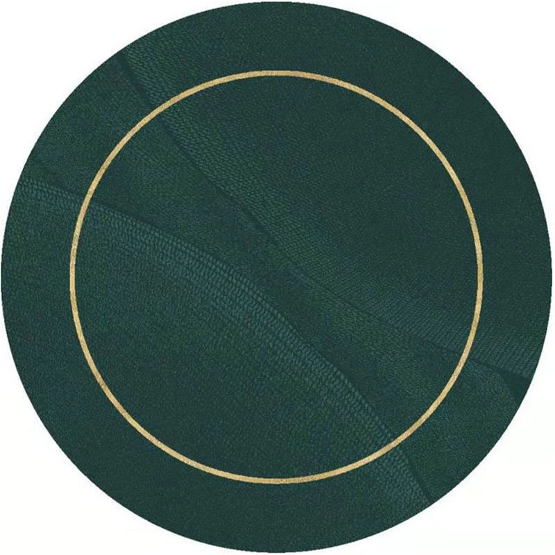 Green Round Rugs