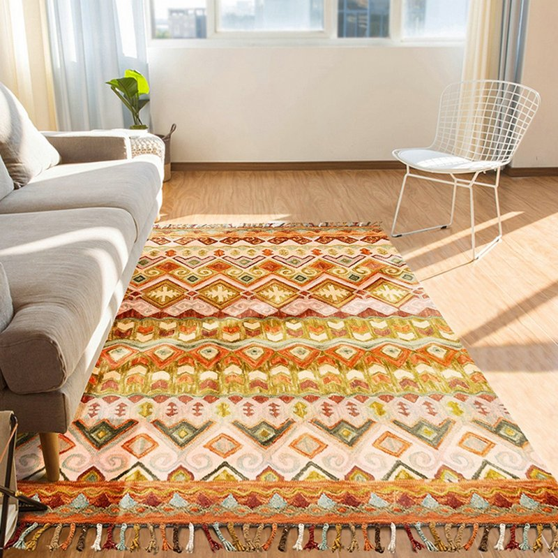 Hand Tufted Wool Samba Theme Rugs