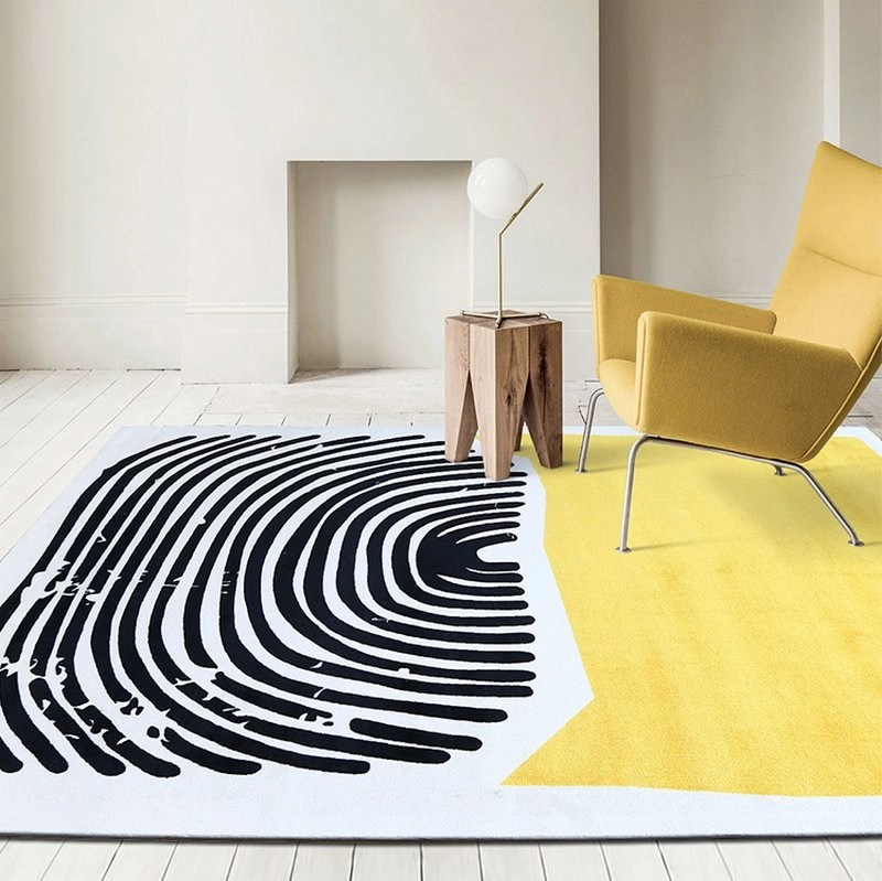 New Design Geometric Area Rugs