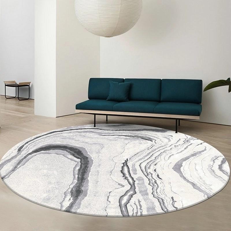 Modern Dream Design Ripple Round Rugs