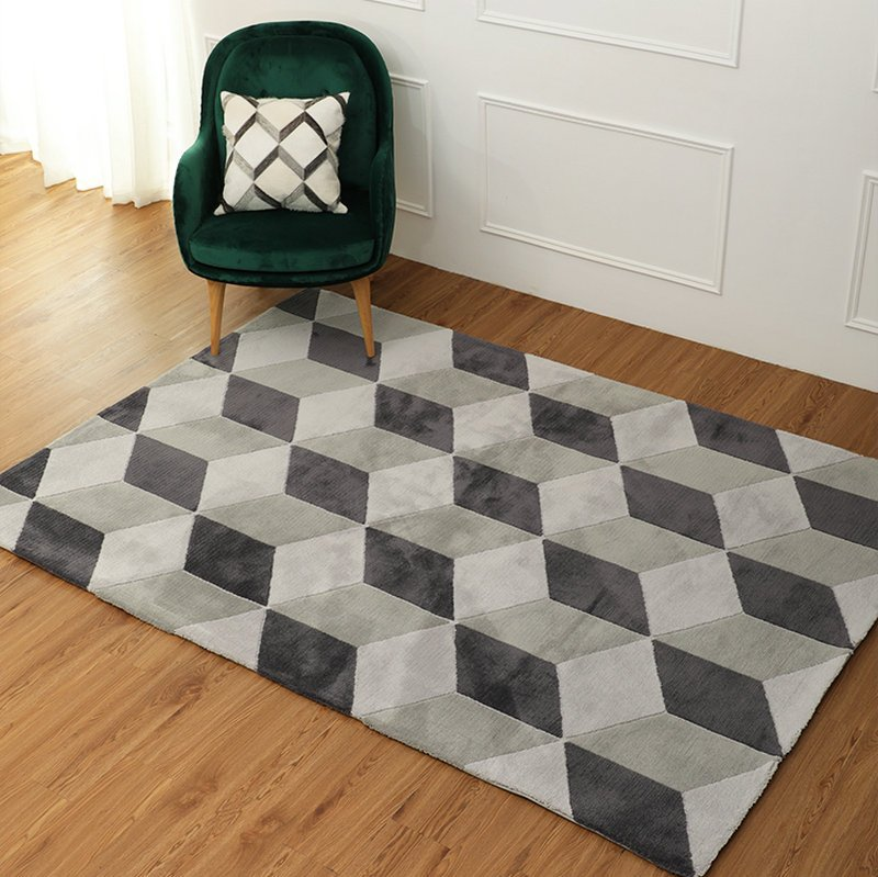cubic rugs