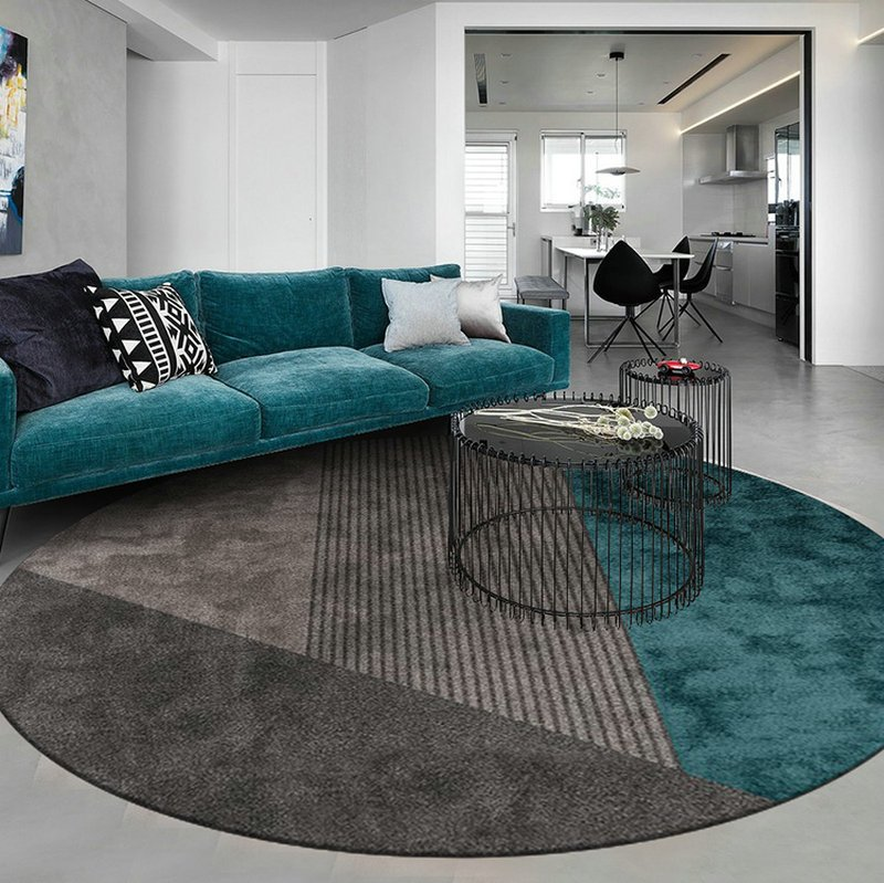 Round Floor Rug
