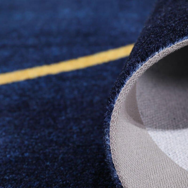 navy blue rug