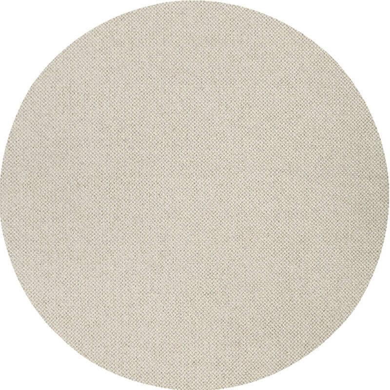 Round Gray Rug