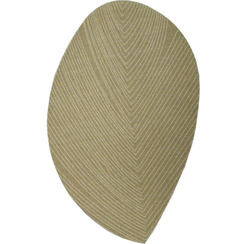 Leaf Shaped Rug