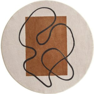 Round Patterned Rug