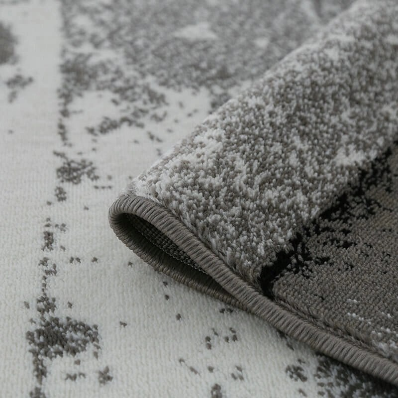 Black Gray Rug
