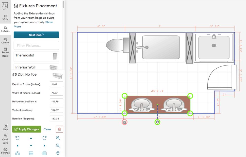 medium resolution of step 4 heated area calculations