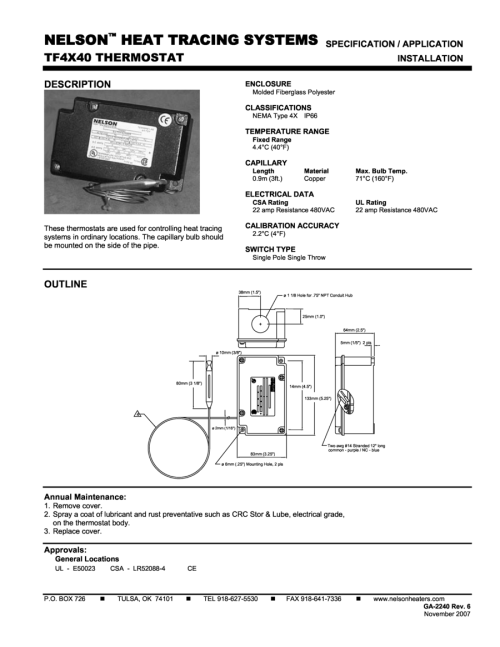 small resolution of capillary thermostat wiring diagram wiring librarytf4x40 thermostat specification application technical design drawings u s cooler wiring
