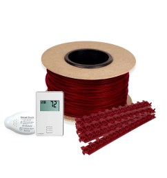 floor heating kit 120v tempzone cable system 30 non programmable thermostat tct120  [ 2000 x 2000 Pixel ]