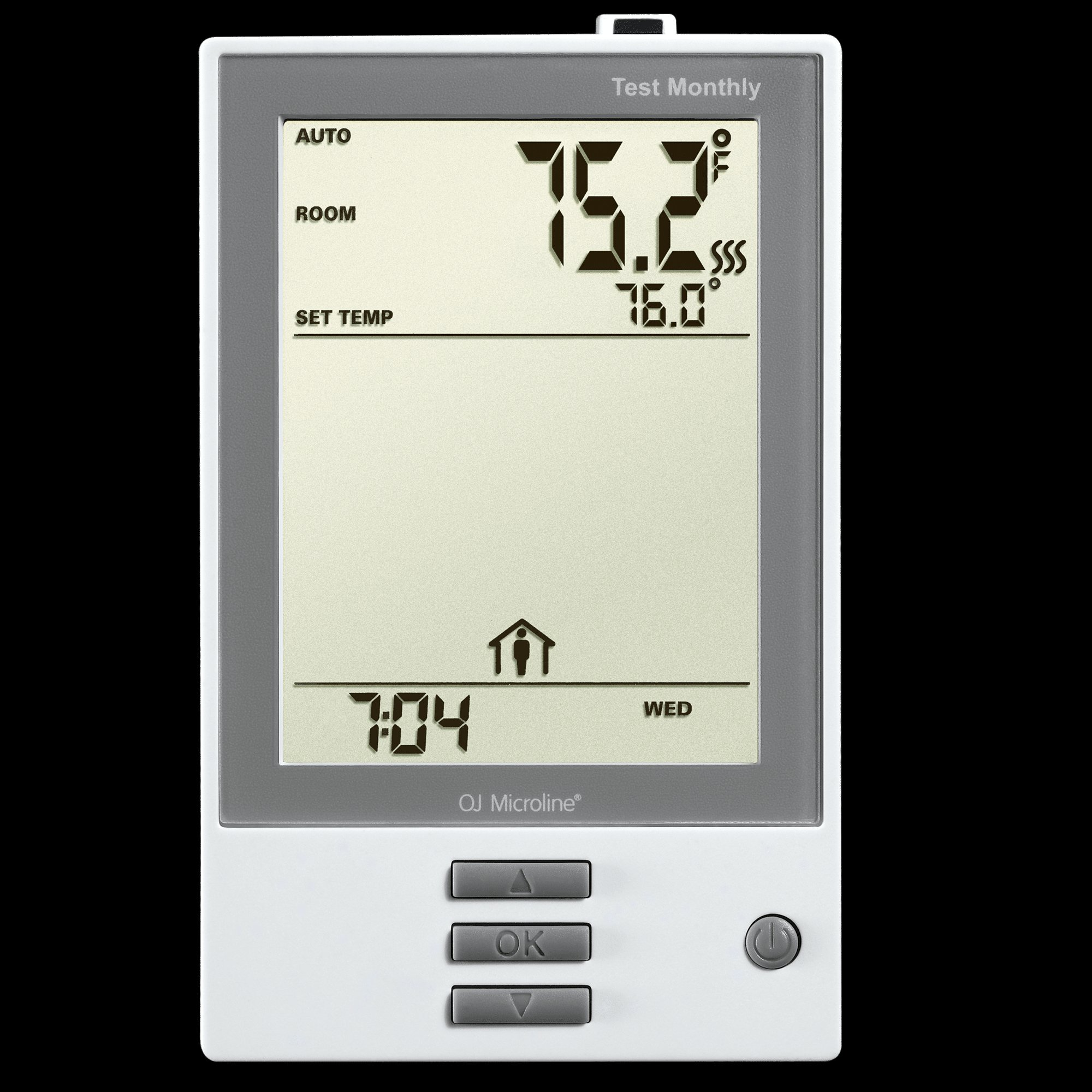 hight resolution of nhance programmable thermostat