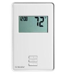 ntrust utn4 4999 ntrust thermostat labeled diagram [ 2000 x 2000 Pixel ]