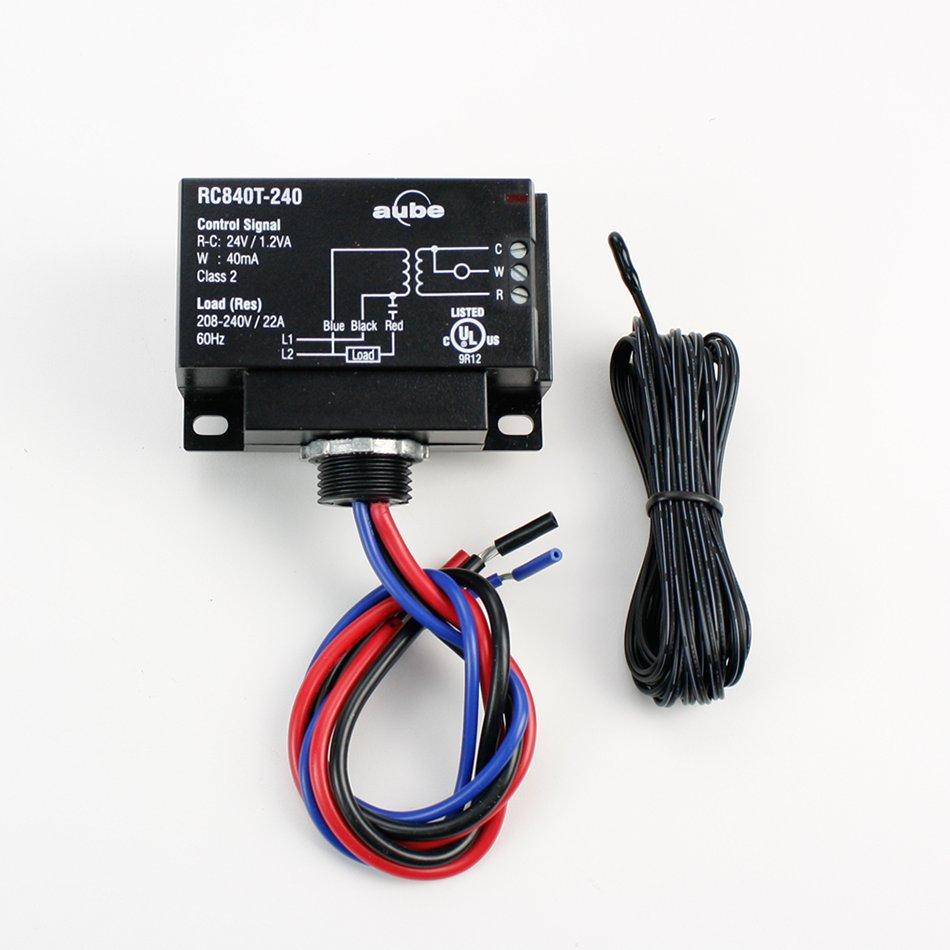 medium resolution of relay with built in transformer 240v floor sensor integration kit plus