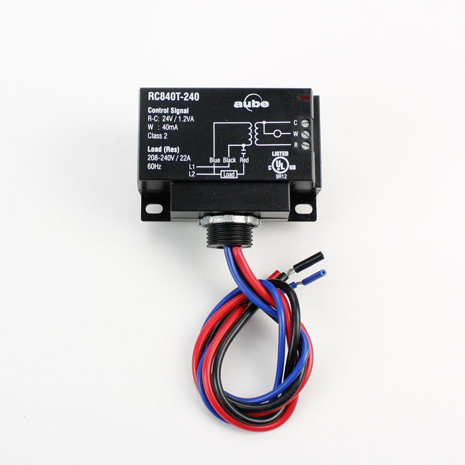 medium resolution of relay with built in transformer 240v integration kit 240v