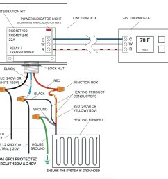 third party control integration relay with built in transformerwiring diagram for floor heating relay with built [ 1175 x 1123 Pixel ]