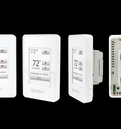 nspire touch programmable thermostat white  [ 6000 x 4000 Pixel ]