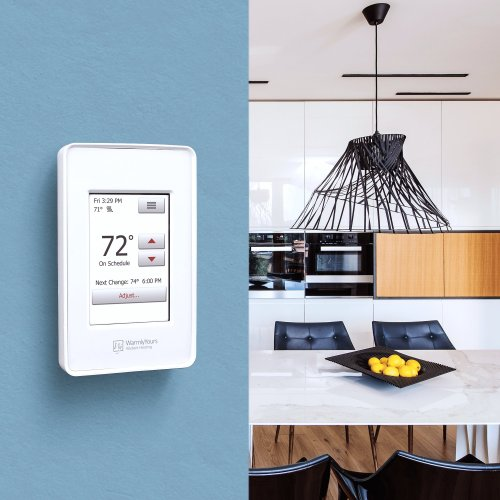 small resolution of nspire touch programmable thermostat white
