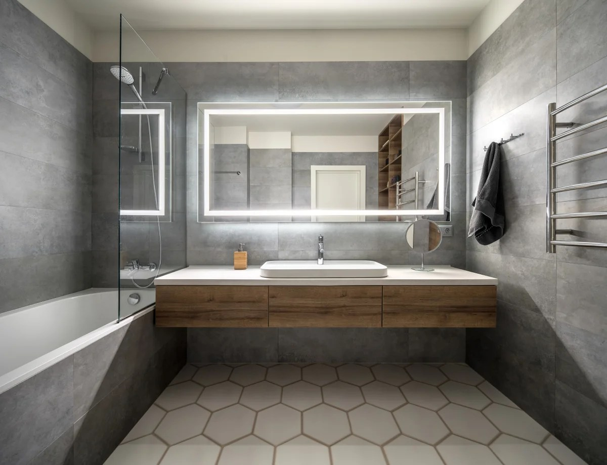 top bathroom design trends