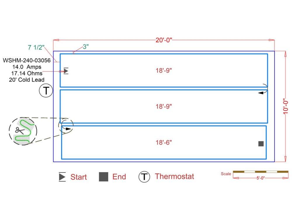 medium resolution of slab heat mats example floorplan