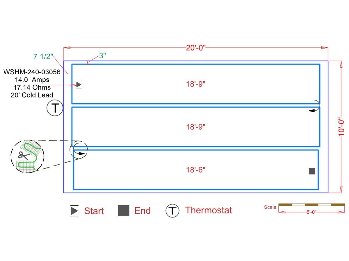 hight resolution of slab heat mats example floorplan