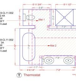 tempzone custom mats example floorplan [ 1200 x 899 Pixel ]