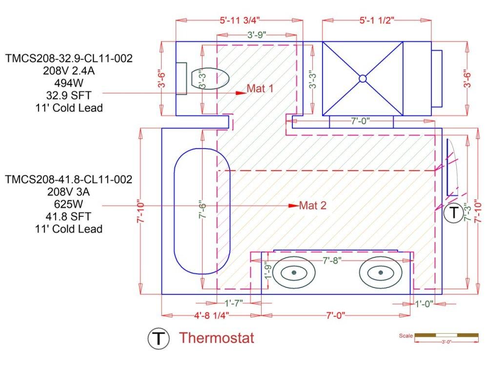 medium resolution of tempzone custom mats example floorplan