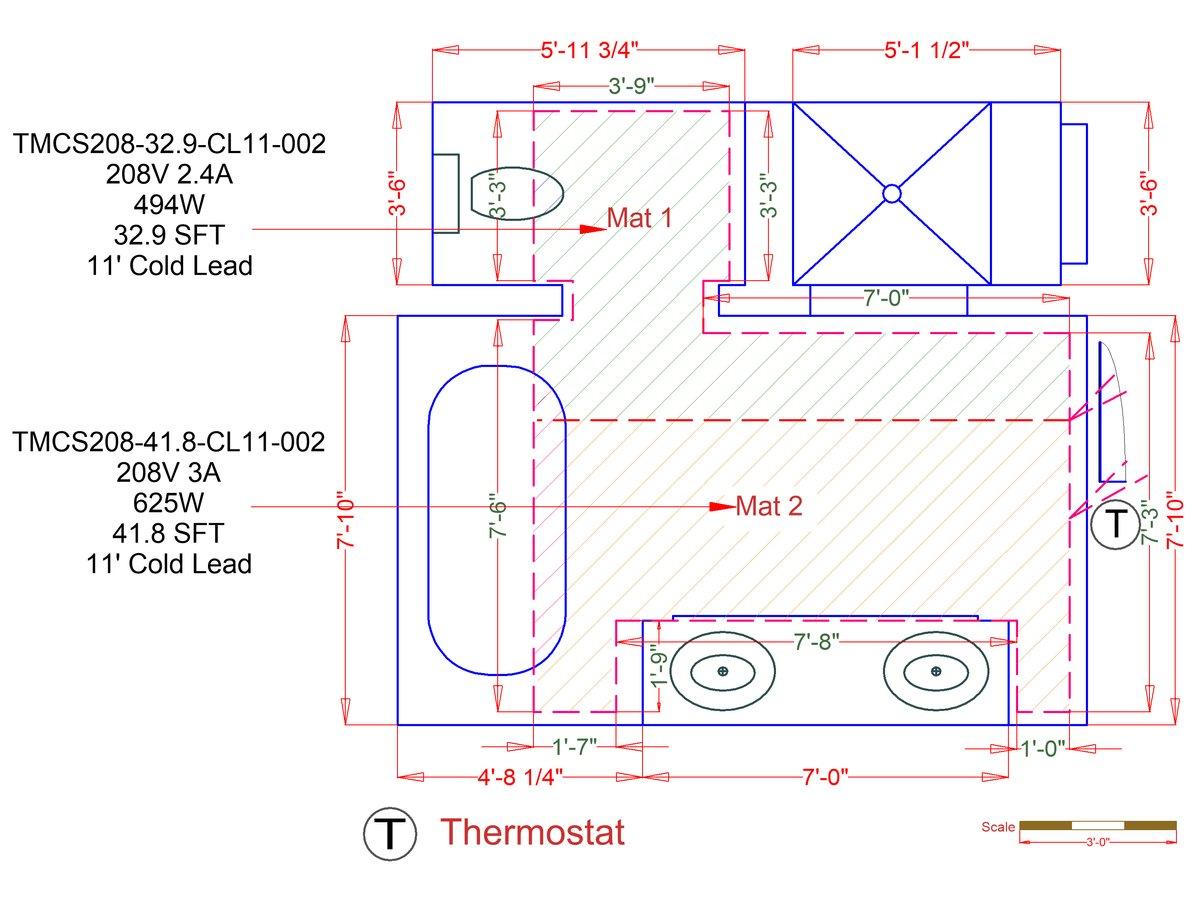 hight resolution of tempzone custom mats example floorplan