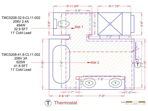 small resolution of tempzone custom mats example floorplan