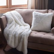 sofa blanket - 41 Warm Up Tips for Home and Work