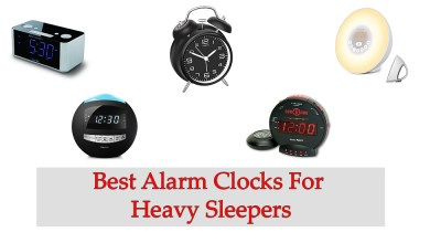 Best Alarm Clocks For Heavy Sleepers Review