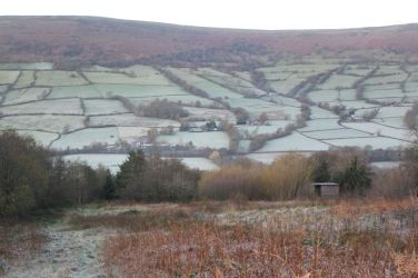 Winter wonderland at Garn Farm