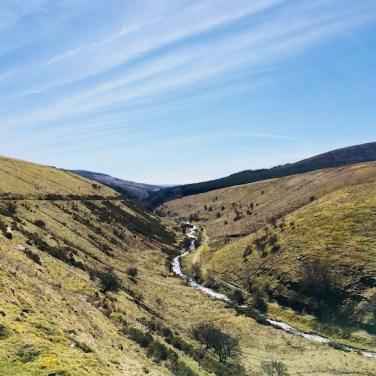From Grwyne Fawr Reservoir