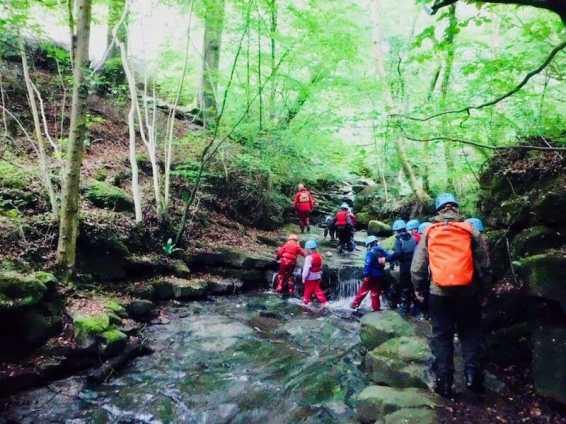 Outdoor adventure courses