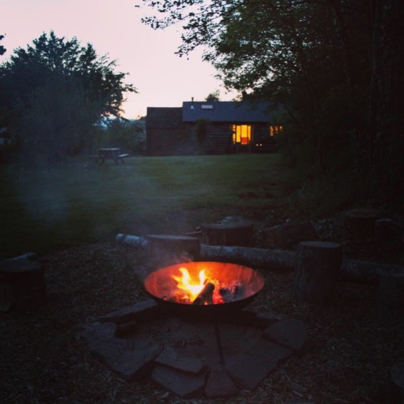 Warmth and Wonder - fire pit