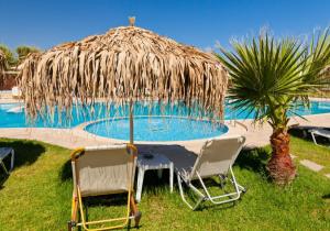 Accommodation, swimming pool