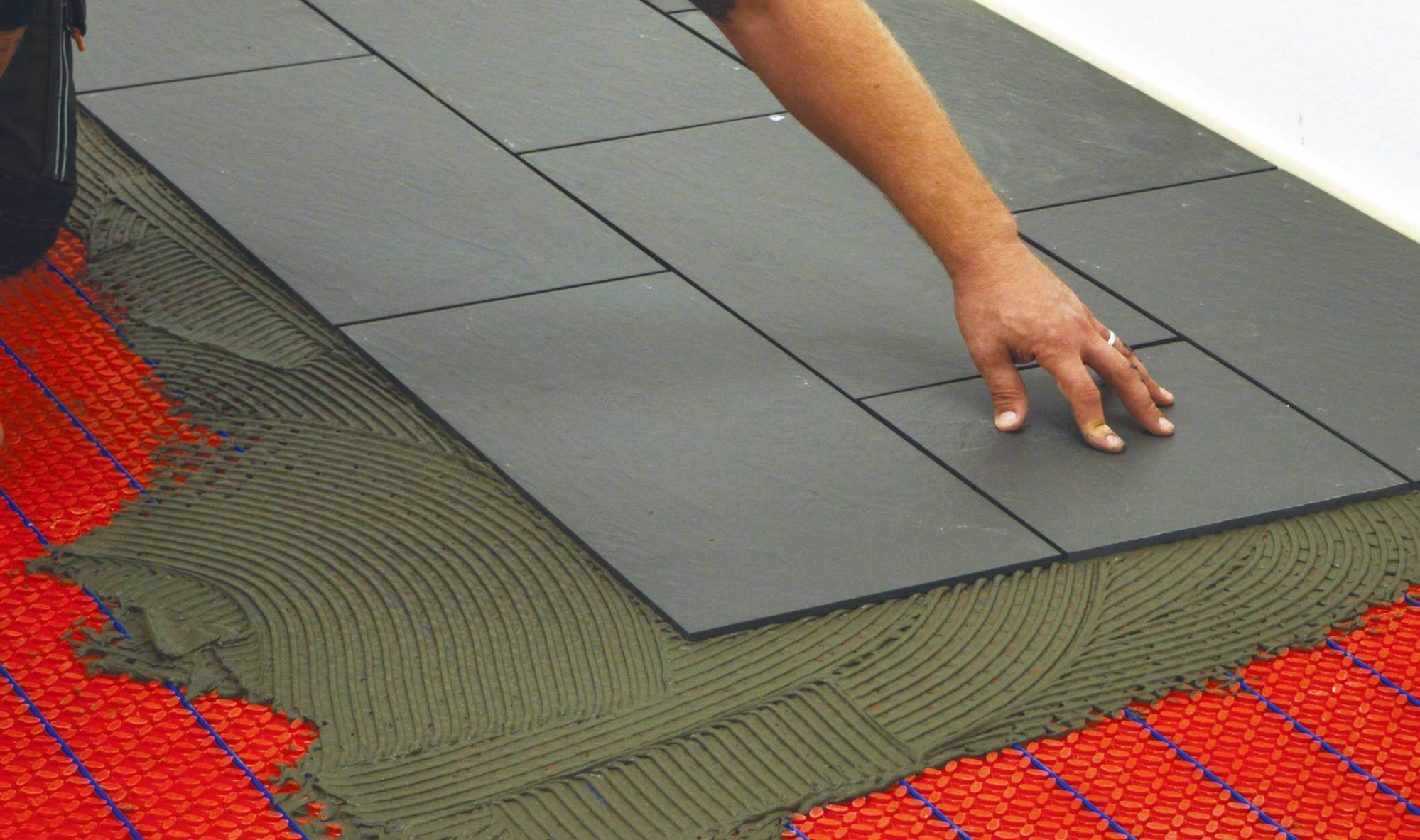 hight resolution of warmup heating mats installation