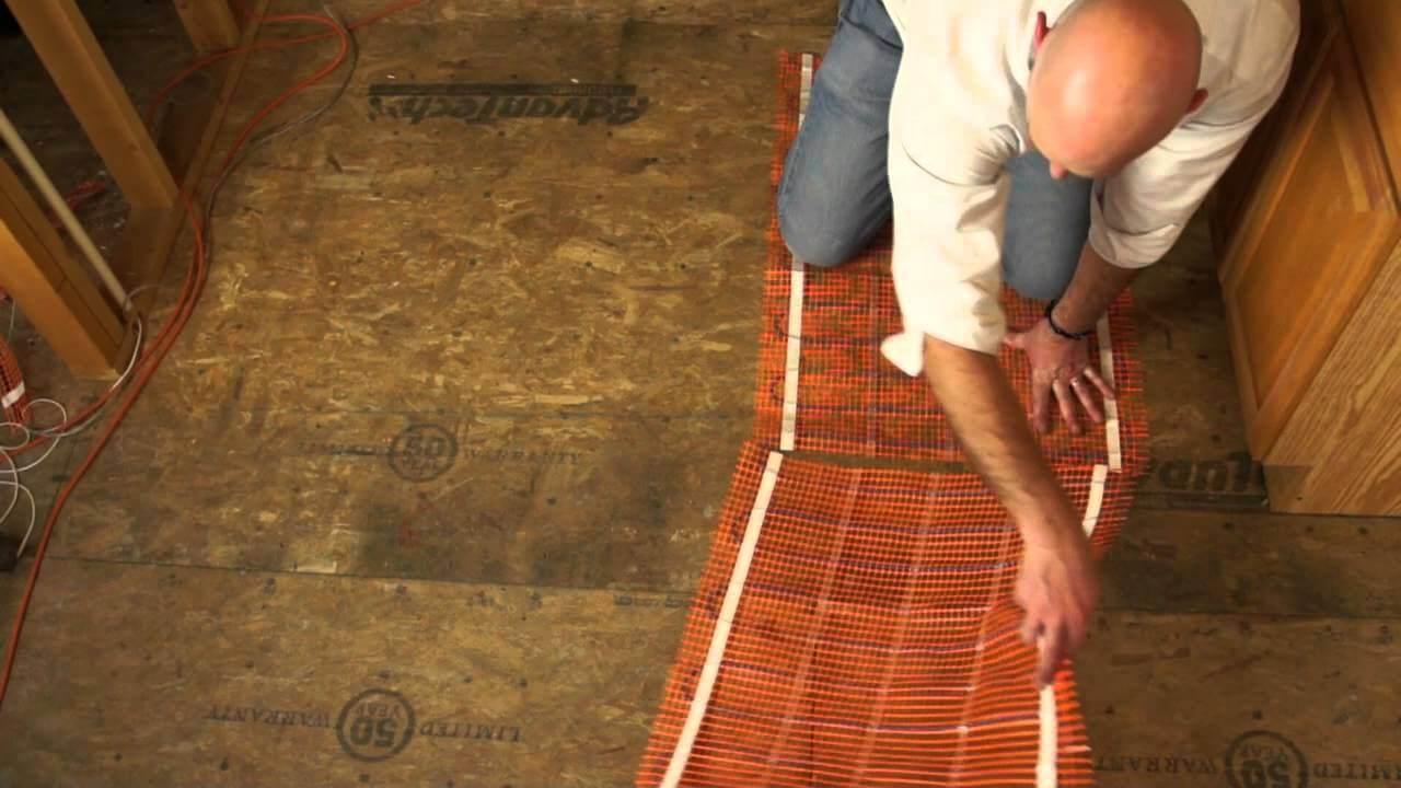heated flooring basics knowledge center