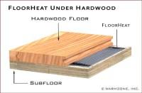 Electric Radiant Heat Under Hardwood Floors   Carpet Review