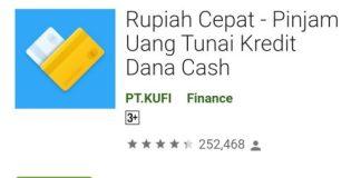 Aplikasi Pinjaman Rupiah Cepat