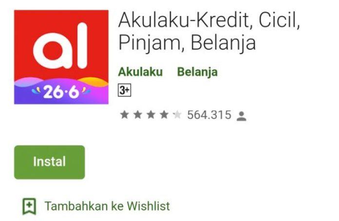 Aplikasi Pinjaman AkuLaku