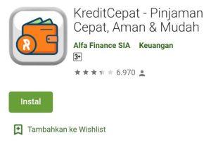 Aplikasi Pinjaman Terdaftar di OJK