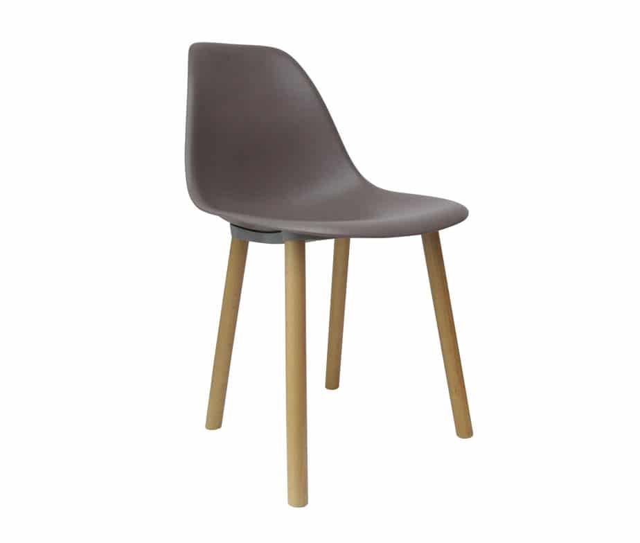 Alicia Cafe Chairs Available in Black White Taupe and
