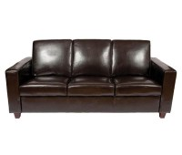 Tiffany 3 Seater Leather Sofa Commercial Grade Leather
