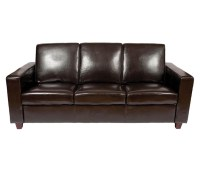 Classic Leather 3 Seater Sofa by Warner Contract Furniture