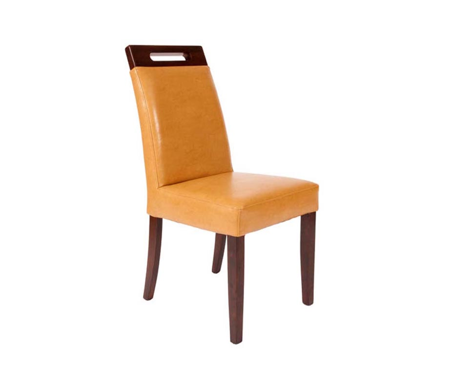Donnington Dining Chairs  Contract Grade Leather in 6 Colours