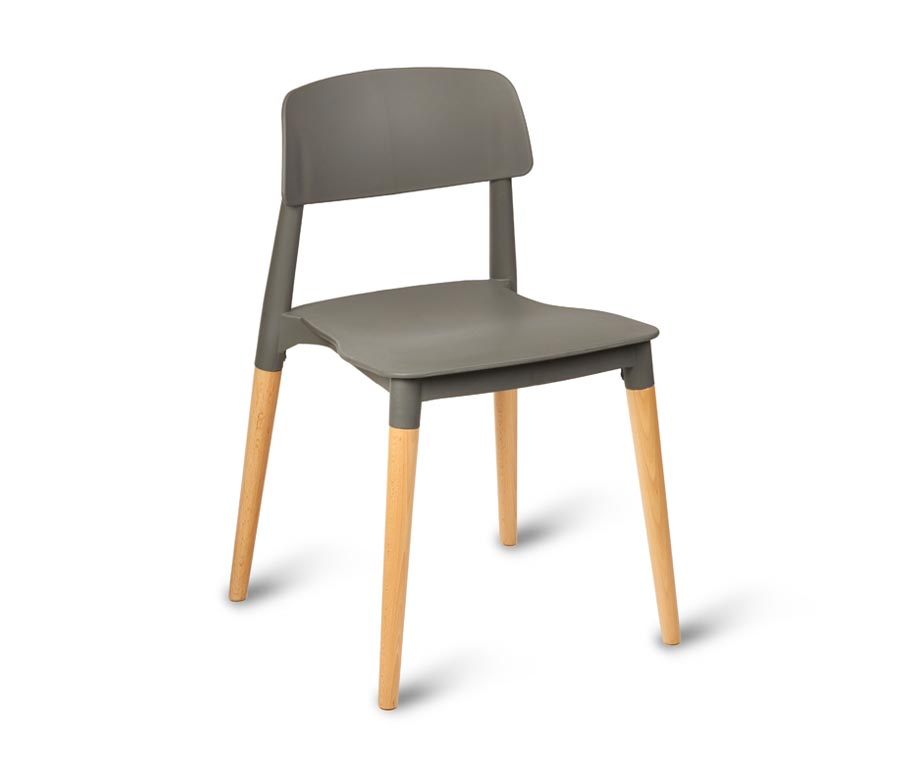 stackable restaurant chairs visitor for office quality stacking commercial use wide range available luna plastic grey