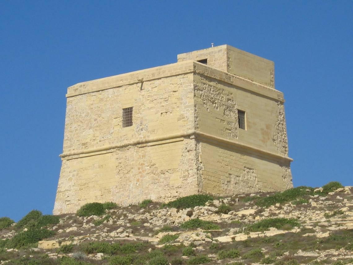 Xlendi tower