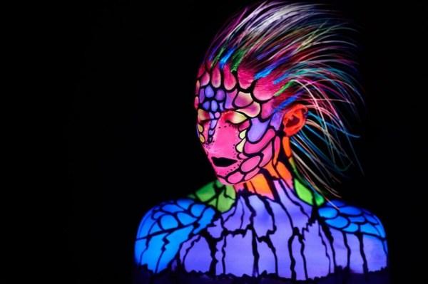 UV Neon Body Paint