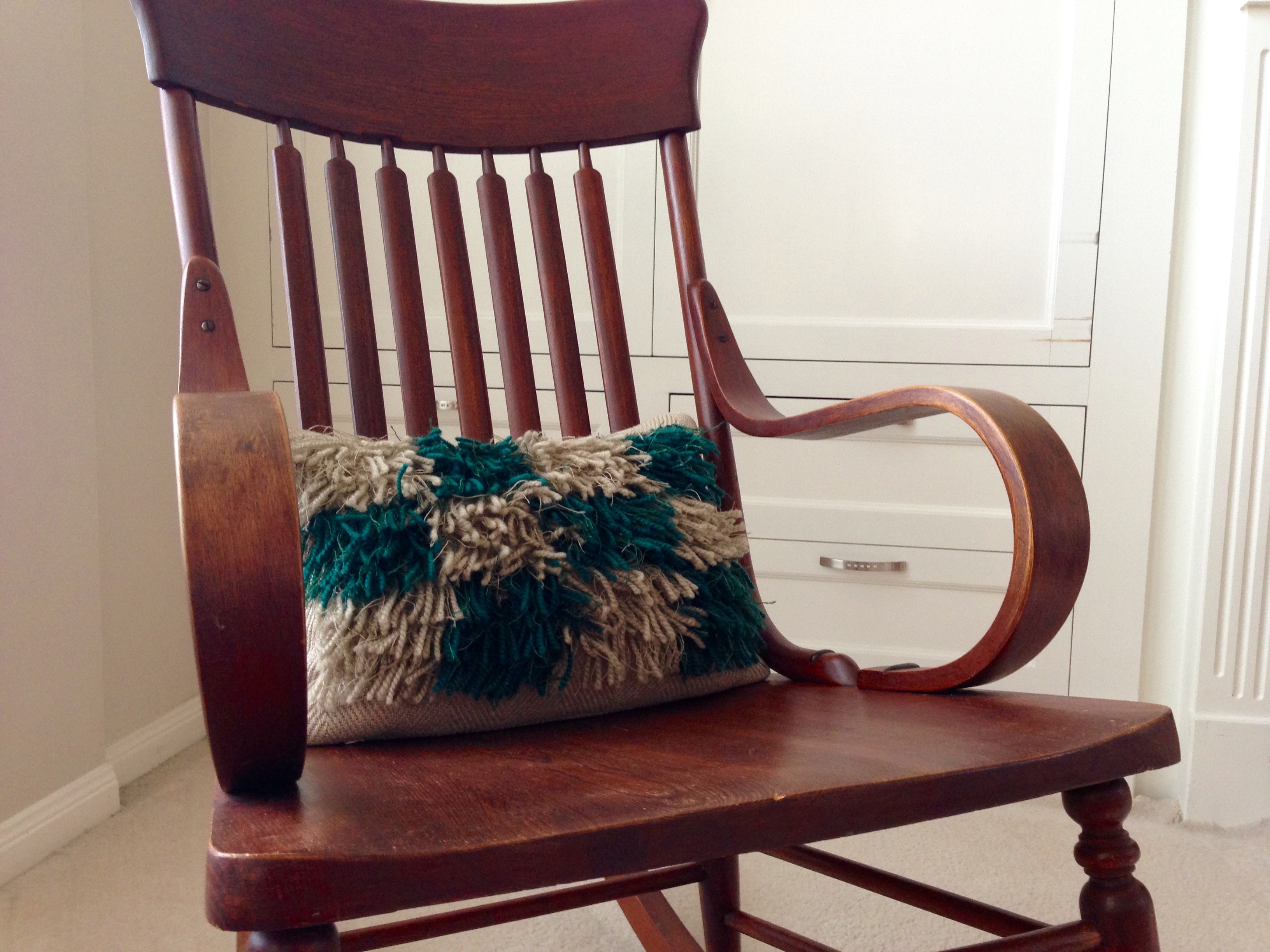 grandma rocking chair kids reclining rya pillow in the  warped for good