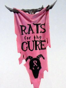 Rats for the Cure Banner